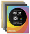 Film Polaroid Color 600 Round Frame (Gold, Silver, Black, multi)